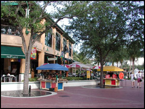 Shopping at Las Olas